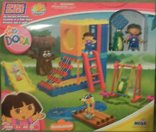 NEW NICK JR  DORA THE EXPLORER MEGA BLOKS BIG BACKYARD ADVENTURES #3006 RARE HTF