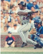 RICKEY HENDERSON 8x10 @Wrigley NEW YORK METS (Baseball Action Photo) COOPERSTOWN