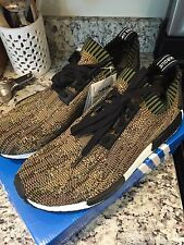 Adidas Nmd Primeknit Camo Pack Olive Size 11.5 12
