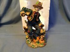RARE 2003 Clown SCARECROW LENOX American by Design Harvest Jubilation