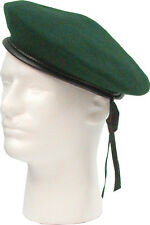 "Beret ""Monty"" RED-GREEN-BLACK G.I Style Military Army Wool Hat 45991-45992-45993"