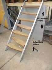Treppe Ausstellungsstück Innentreppe Hochbett-treppe Stahlblech Gartentreppe