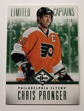2012-13 Panini Limited Hockey Limited Captains Chris Pronger Green 2/5