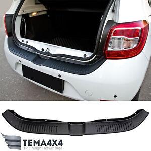 Rear bumper protector scuff pad for Renault Sandero 2014-present sill guard