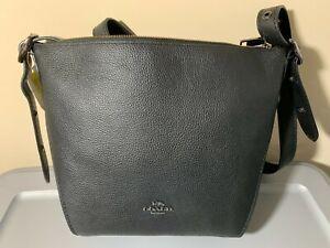 COACH 21377 Small Duffle Leather Crossbody NWT