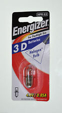 Energizer HPR-53 Halogen Bulb 4v Globe 3D Battery Torch Maglite light 0.85a