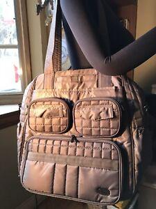 LUG Puddle Jumper Overnight / Travel / Gym Bag Tote Waterproof Khaki