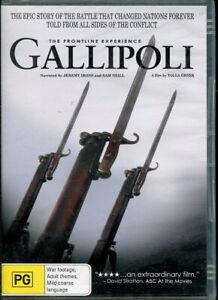 Gallipoli The Front Line Experience DVD NEW Region 4