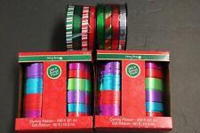 Set of 4 Curling Ribbon Gift Ribbon Hair bow Craft 400' x2 60'x2