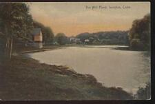 POSTCARD The Mill Pond Shoreline IVORYTON  CT 1907