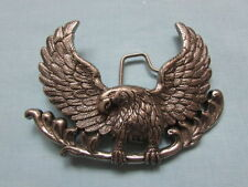 BOUCLE DE CEINTURE EAGLE / AIGLE - DECORATION USA / HARLEY /BIKER /CHOPPER