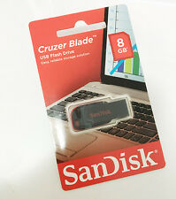 Sandisk Cruzer Blade USB2.0 Flash Drive 8GB Brand New