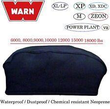 WARN Winch Neoprene Cover 6000 8000 9000 12000 15000 18000lbs Water Dust Proof