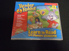 The Learning Company Reader Rabbit Learn to Read With Phonics Preschool Ages 3-6
