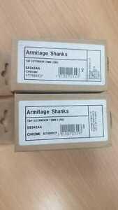 Tap Armitage Shanks Chrome extension 75 mm long x2 JOB LOT