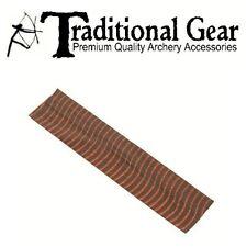4 Pc. Zebra Bow String Rubber Silencers Archery Vibration Color: Brown - Orange