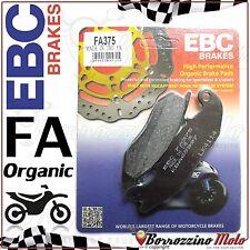 PASTIGLIE FRENO ANTERIORE ORGANIC EBC FA375 HONDA CBR R 125 2012 2013 2014