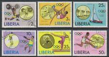 Liberia - 1976, Jeux Olympiques, Montreal Ensemble - Cto - Sg 1270/5 (I)