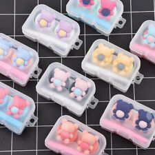 Cute Bear Pocket Mini Contact Lens Case Box Kit Outdoor Travel Holder Container