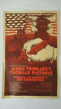 VINTAGE JAMES PRIDEAUXS PECULIAR PASTIMES PLAY BEVERLEY HILLS PLAYHOUSE POSTER
