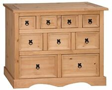 Corona Merchant Chest of Drawers Sideboard Pine 4+3+2 by Mercers Furniture®