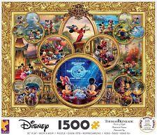 Ceaco Thomas Kinkade Disney Mickey Mouse 90th Birthday Collage Puzzle 1500pc