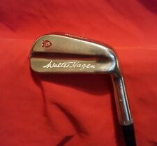 """VINTAGE Walter Hagen CHIPPER  35"""" Right Hand Old Leather Grip NICE!"""