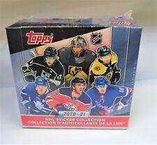 2020-21 TOPPS NHL HOCKEY STICKER BOX