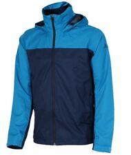 Men's Adidas Terrex Wandertag Outdoor Hiking Jacket Coat Windbreaker Top - Blue