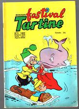 mensuel FESTIVAL TARTINE n°73 ¤ 1973 SFPI OCCIDENT