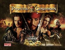 PIRATES OF THE CARIBBEAN Pinball Cabinet light mod RED