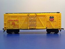 "Ho Scale ""Union Pacific"" Osl 47736 Forty Foot Livestock Cattle Train / Ahm Brand"