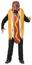 Zombie Hot Dog Funny Adult Costume Over The Head Tunic Halloween Rasta Imposta