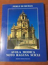 1998 PERLE DI SICILIA -Avola Modica Noto Ragusa Scicli Ed. Affinità Elettive