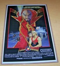 FLASH GORDON CLASSIC VINTAGE MOVIE POSTER A5..A4 AND A3 OPTIONS