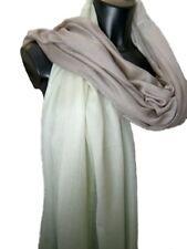 Damen Seiden Stola Schultertuch Seide Schal Damenschal 200x95 Farbverlauf