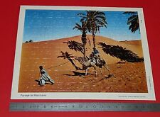 PUZZLE 80 PIECES COLLECTION CHEQUE CHIC LUSTUCRU ANNEES 1970 MAURITANIE
