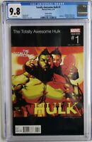 TOTALLY AWESOME HULK #1 CGC 9.8 1ST APP AMADEUS CHO HIP HOP VARIANT 🔥🔥