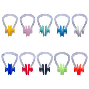 3pcs Swimming Nose Clips Waterproof Silicone for Kids Adults with Box Case