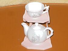 Precious Moments Porcelain Mini Tea Set 4 Pcs Set