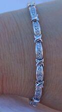 1.50ct Sparkle Diamond Bracelet 4mm 10k WG