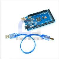 For Arduino Mega 2560 R3 ATmega 328P Compatible Board CH340G USB Cable +wire Kit