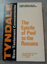 The Epistle of Paul to the Romans, Tyndale N.T. Commentaries, F.F. Bruce