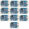 10-100 Pcs TP4056 Micro USB Charger Module 5V 1A 18650 Lithium Battery Board GB