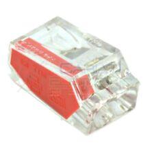10 PEZZI Morsetto terminale 2 x 1-2,5mm2 per Cavi Fili Elettrici