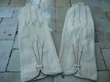 paires de gants  vintage en chevreau jamais utilisé