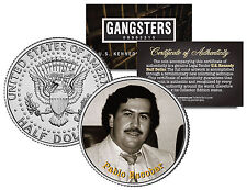 PABLO ESCOBAR * Gangster Series * JFK Kennedy Half Dollar U.S. Coin