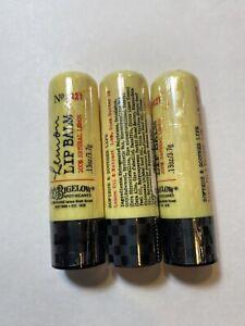3 x Bath & Body Works C.O. Bigelow Lemon Lip Balm Lemon Lip Balm Stick Lot