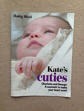 Daily Mail Supplement Special KATE MIDDLETON'S Cuties PRINCESS CHARLOTTE