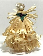 Angel Christmas Ornament Corn Shuck ~ Christmas In July